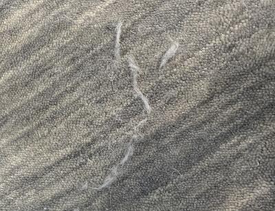 ウールの遊び毛