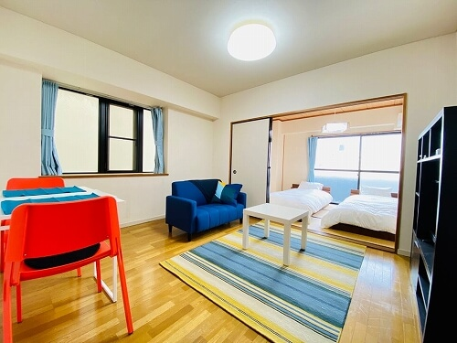 【アパートメントホテル】HOTEL 棲家様 ストライプシリーズ ER3021(約150×200cm)