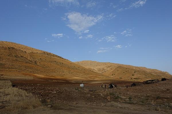 イランの遊牧民が暮らす山岳地帯