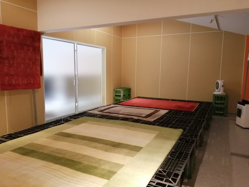 ラグケア乾燥室