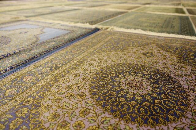 ペルシャ絨毯のイメージ