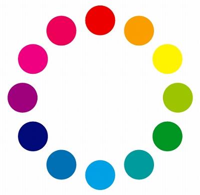 12色の色相環