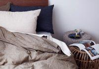 リネン素材の寝具