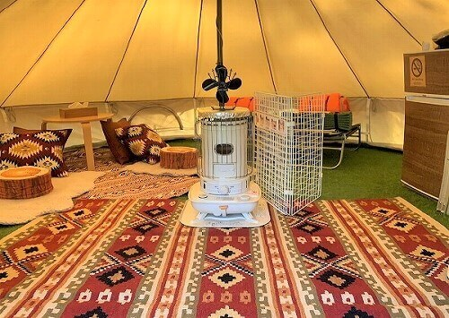 FLORA Campsite in the Natural Garden 様