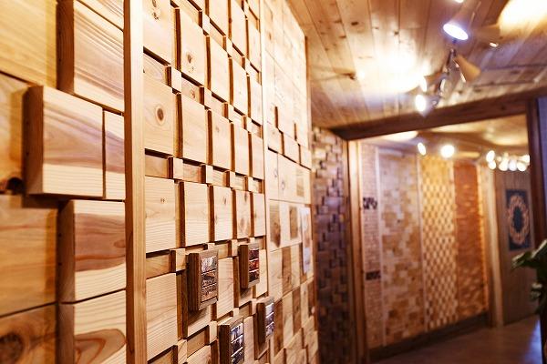 【グランピング施設】ウッドデザインパーク様 ニッカブロックが使用された館内